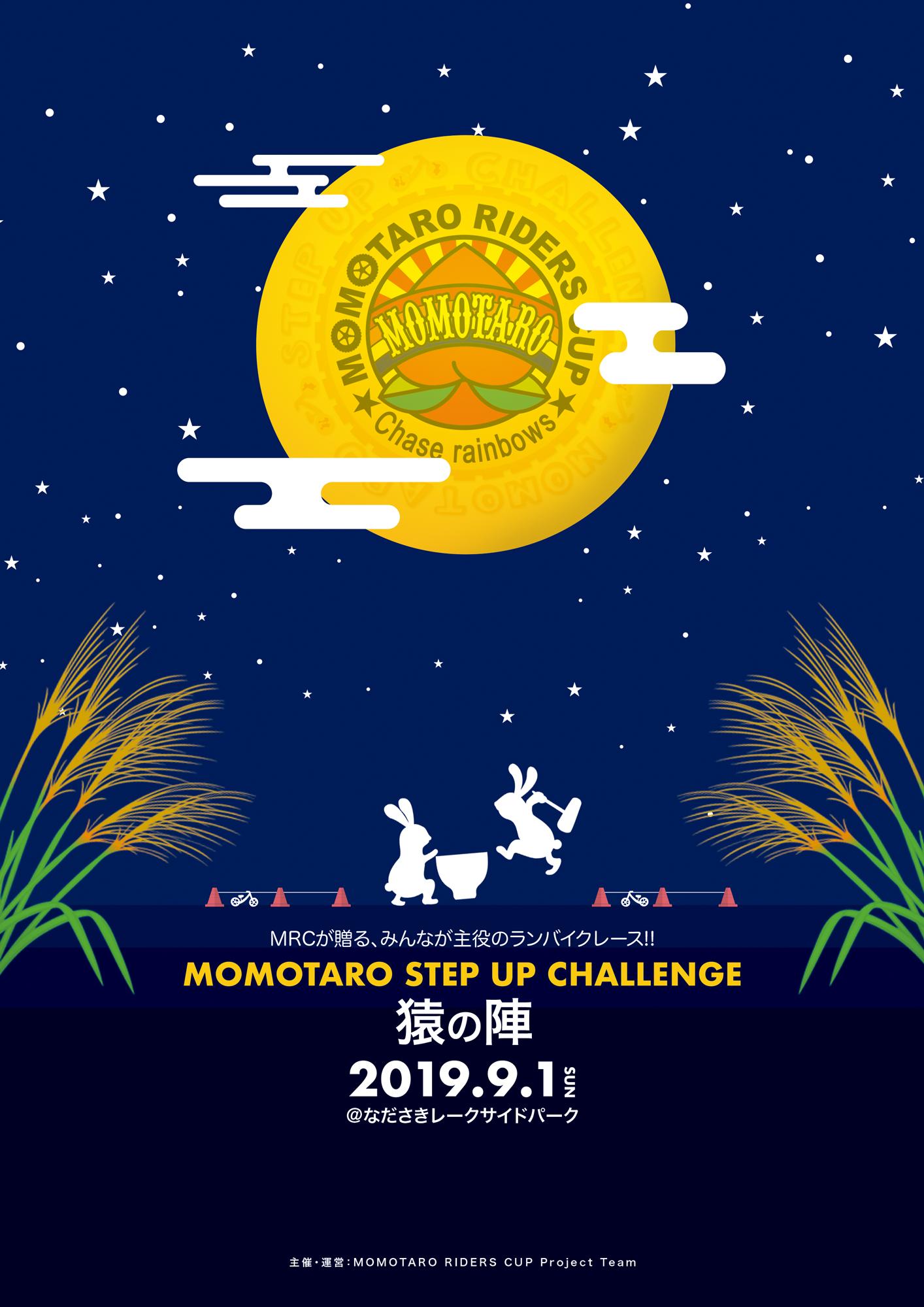 2019 モモチャレ 猿の陣 大会終了のお礼